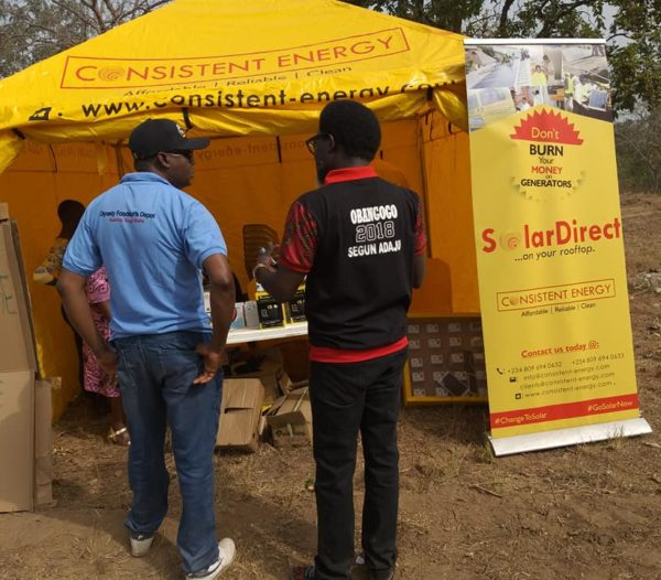 SolarDirect Was Live at Obangogo 2018